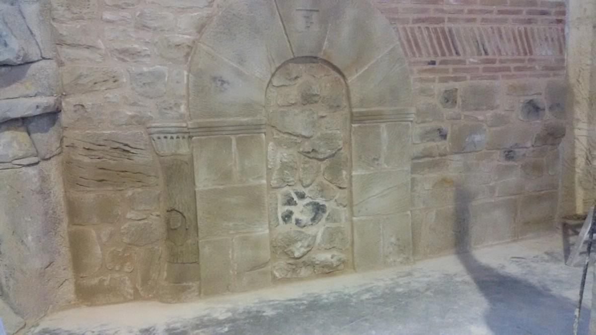 Imitaci n a roca ladrillo y piedra j l urquiaga pintor - Ladrillos de piedra ...